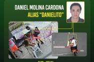 """A """"Danielito"""" el fletero le echaron guante en Medellín."""