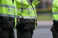 Uniformados de la policía