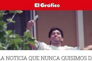 Muerte de Maradona en la prensa de Argentina