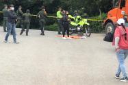 Desactivan artefacto explosivo en el noroccidente de Medellín