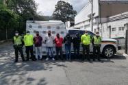 Los procesados son señalados de hurtar carros de mercancía en carreteras del departamento.