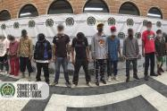"""Con videos cogieron a 17 del combo """"El Amarillo"""" en Belén San Bernando"""