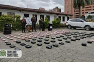 El olfato de perros detectó droga en gel antibacterial en Medellín