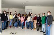 Profesionales de la salud que llegaron de Barranquilla para apoyar en Antioquia