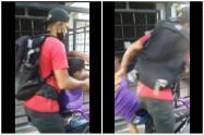 Rescatan en Medellín al niño que fue maltratado porque no tenía dinero de la venta de confites