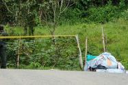 Encuentran cadáver envuelto en sabanas en Medellín