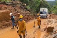 Deslizamiento de tierra en San Luis, Antioquia