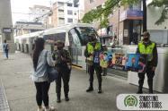 Campañas de la Policía en Medellín frente a las restricciones de este puente festivo