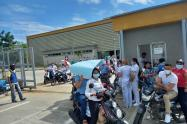 Protestas en el hospital de Caucasia, Antioquia.