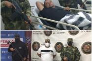 Alias 'Vicente' y 'Zarco', cabecillas del Clan del Golfo fueron capturados en Campamento, Antioquia.