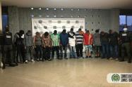 Los capturados son señalados del desplazamiento de nueve familias por no pagar extorsiones.