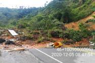 Deslizamiento en San Luis, Antioquia.