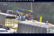 Accidente en el peaje de Copacabana, Antioquia