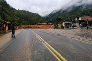 Derrumbe en San Luis, Antioquia