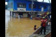 Declaran la calamidad pública por las lluvias e inundaciones en Zaragoza, Antioquia