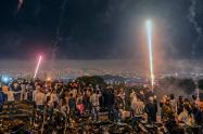 Navidad en Medellín en pandemia