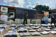 Decomisan el estrén de diciembre, incautan millonario cargamento de contrabando en Medellín