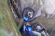 La víctima fue hallada en jurisdicción del municipio de San Luis.