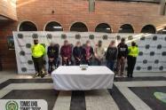 """Capturan a siete jibaros del combo """"Altos de la Virgen"""" en la Estrella Antioquia"""