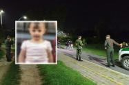Hallan cuerpo de niña de 18 meses desaparecida en Rionegro, Antioquia