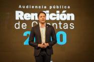 Rendición de cuentas del alcalde de Medellín