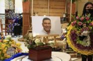 Honras fúnebres del alcalde de Urrao, John Jairo Higuita.