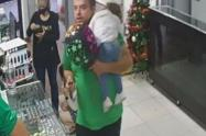 Último momento en el que se ven padre e hija en Rionegro, Antioquia.