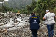 Emergencias en Antioquia.
