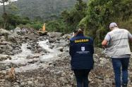 Emergencias por lluvias en Antioquia (Imagen referencial).