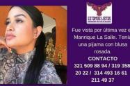 Su exnovio confesó que la asesinó y la tiró al río Medellín.