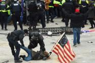 Disturbios en el Capitolio de Estados Unidos