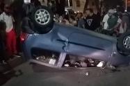 El conductor no portaba ni permiso para conducir, ni SOAT, revelaron las autoridades.
