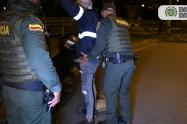 Referencia del toque de queda en Medellín