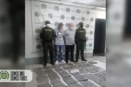 Dos personas resultaron capturadas en estos operativos.