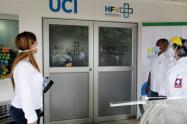 UCI del Hospital Francisco Valderrama de Turbo en el Urabá antioqueño.
