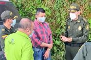 Reunión de las autoridades en Jardín, Antioquia.