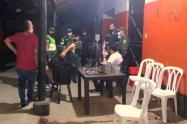 Referencia de fiestas clandestinas en Medellín