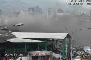 Controlan incendio en la Plaza Minorista de Medellín