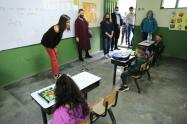 Visita ministra de Educación a instituciones educativas de Antioquia