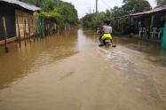Inundaciones en Chigorodó, Urabá antioqueño.
