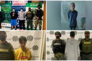 En este operativo un menor de edad fue capturado por el mismo delito.