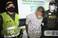 Por este hecho un hombre de nacionalidad extranjera fue capturado.
