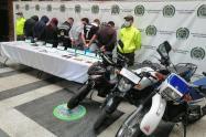 Once personas capturadas, dejó ofensiva contra el hurto de motocicletas y bicicletas en Medellín