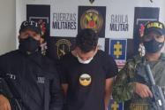 El detenido exigía a su víctima más de tres millones de pesos.