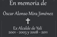 A ex alcalde de Yalí, Antioquia, lo mataron en el tercer atentado