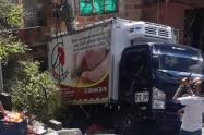 Perdió los frenos y se fue contra una vivienda en Campo Valdés, en Medellín