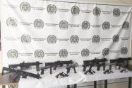 Las armas y las municiones pertenecerían al Clan del Golfo.