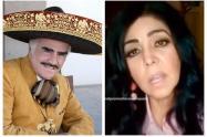 Lupita Castro denunció a Vicente Fernández de abusarla sexualmente.