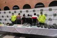 """Doce mil """"puchos"""" de marihuana 5 mil de cocaína guardaba supuestos delincuentes de Manrique"""