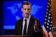 Ned Price, portavoz del Departamento de Estado de EE.UU.